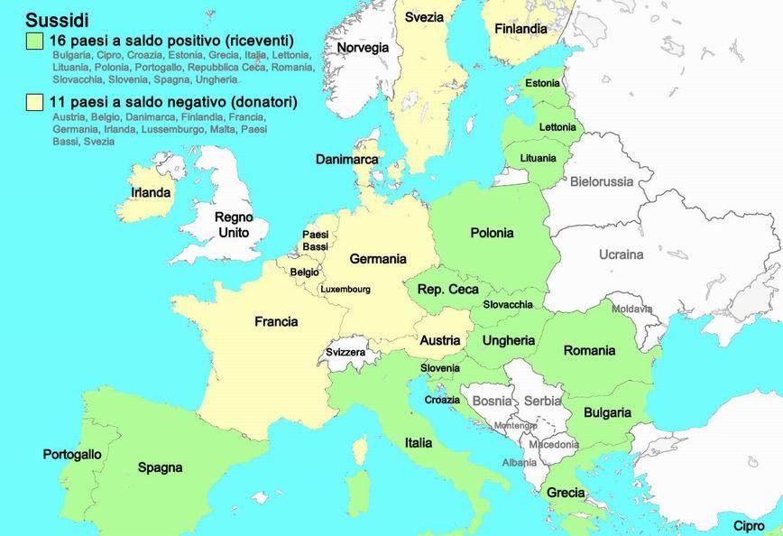 Next Generation negli altri paesi della Unione