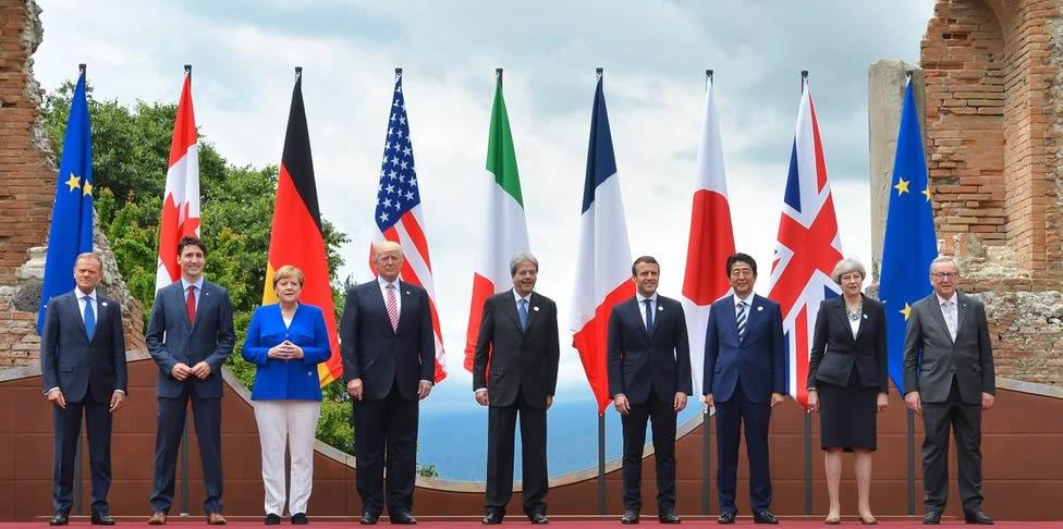 Gruppi governativi G7 e G20